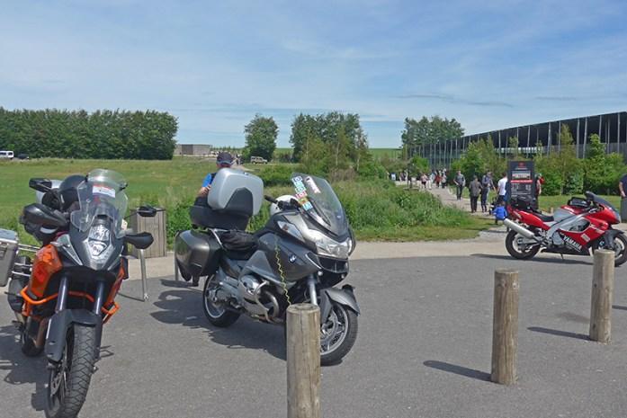 Parque gratuito para motociclos