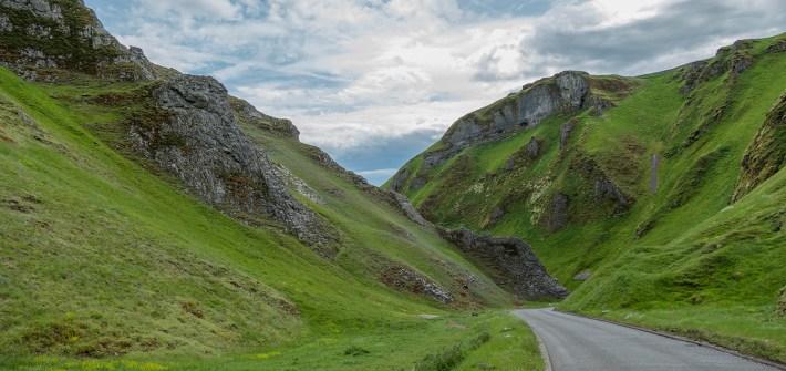 Winnats Pass, Castleton, Peak District