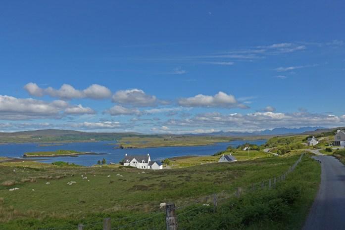 Locais a Visitar na Ilha de Skye: Loch Dunvegan