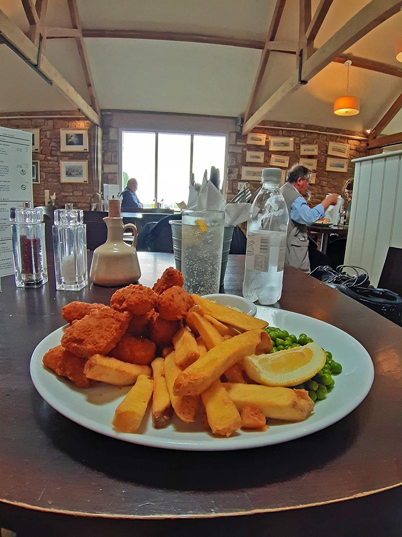 Restaurante The Barn at Beal, Lindisfarne