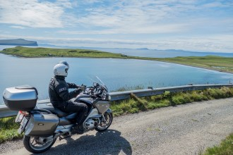 Visitar a ilha de Skye. Uma viagem de mota pela Escócia e Terras Altas.