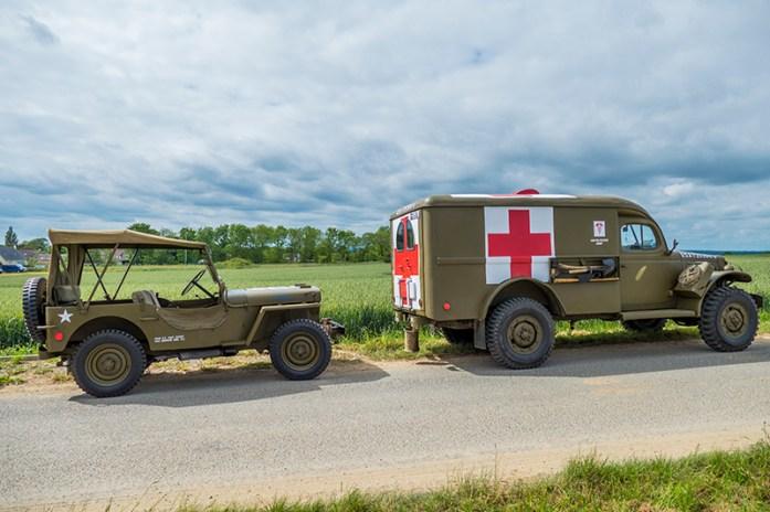 Longues-sur-Mer comemorações dos 75 anos do Dia D