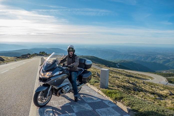 Subida do Loriga Pass, Estrada N338. Serra da Estrela