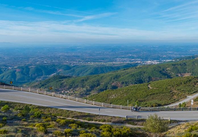 Loriga Pass, Estrada N338. Melhores estradas de Portugal
