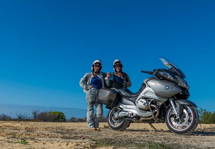 Viajar de mota pela Estrada Atlântica, Portugal