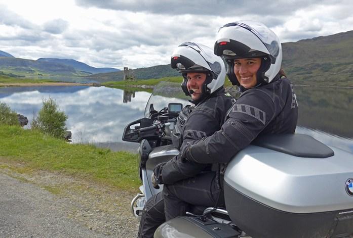 Andar de mota no Inverno: Fato Rukka Motorsport