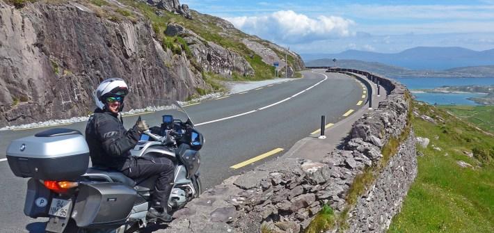 Viagem de mota pela Irlanda: A Rota do Wild Atlantic Way