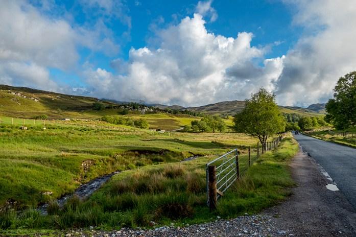 Estrada B862, Fort Augustus, Escócia