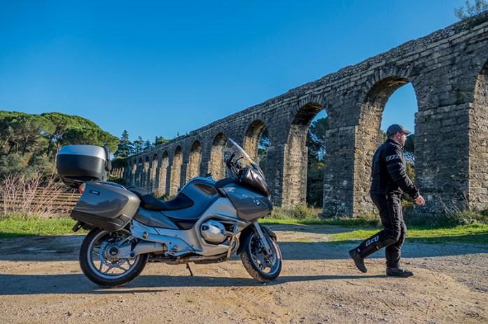 Viagens de mota por Portugal: Aqueduto de Pegões. estradas que percorremos de mota no ano 2020