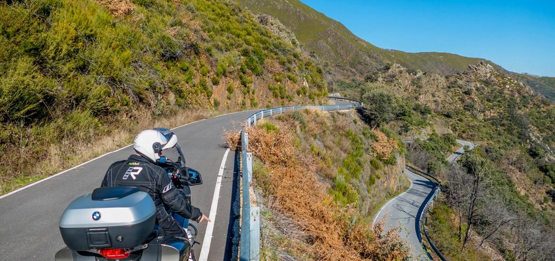 estradas que percorremos de mota no ano 2020Valle del Silencio, Ponferrada