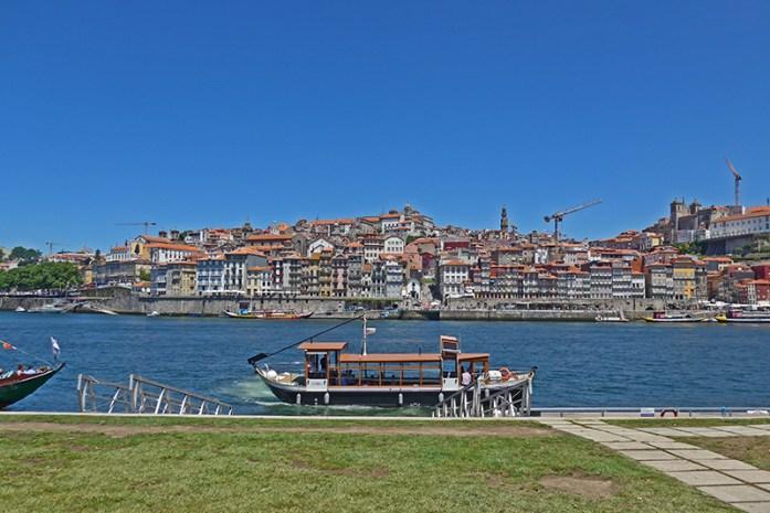 Rio Douro no Cais de Gaia