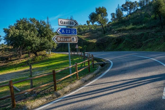 De Gavião a Belver, viagem de mota