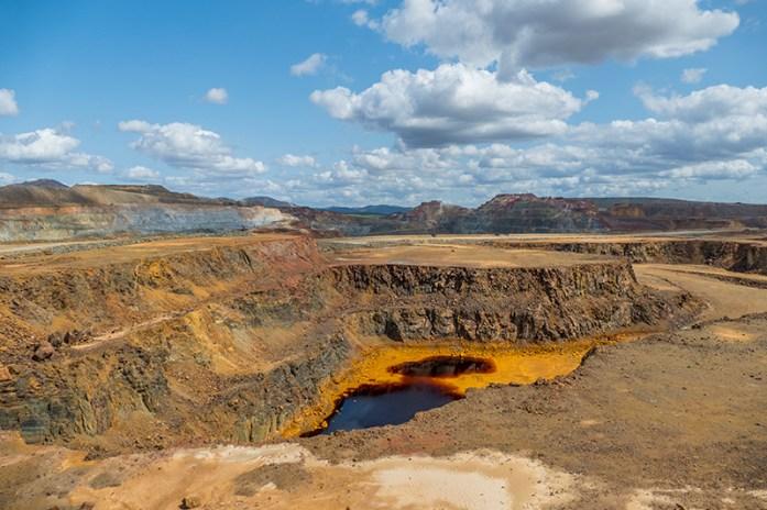 Lagoas ácidas das minas de Riotinto, Huelva