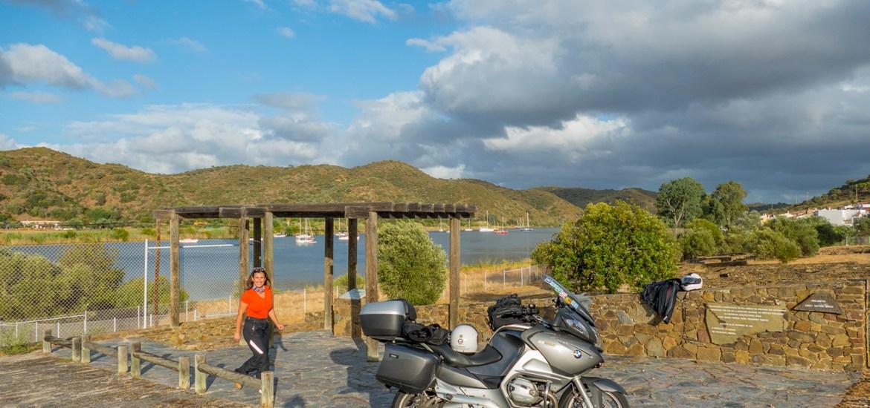 Nas margens do rio Guadiana pela Estrada M507