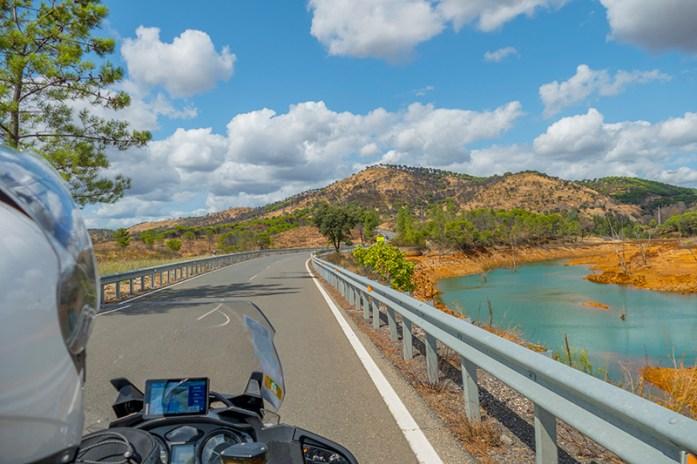 Estrada A461, a rota por estrada pelas Minas de Riotinto