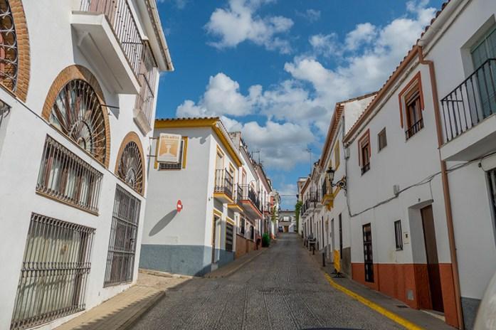 Entre o casario branco da Andaluzia