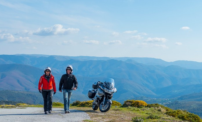Viagem de mota pelo Montemuro