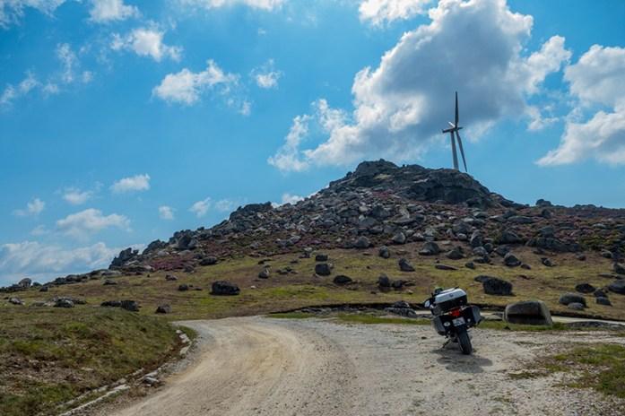 acesso ao Pico da Serra de Montemuro