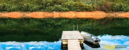 Castelo de Bode: 5 restaurantes no grande lago