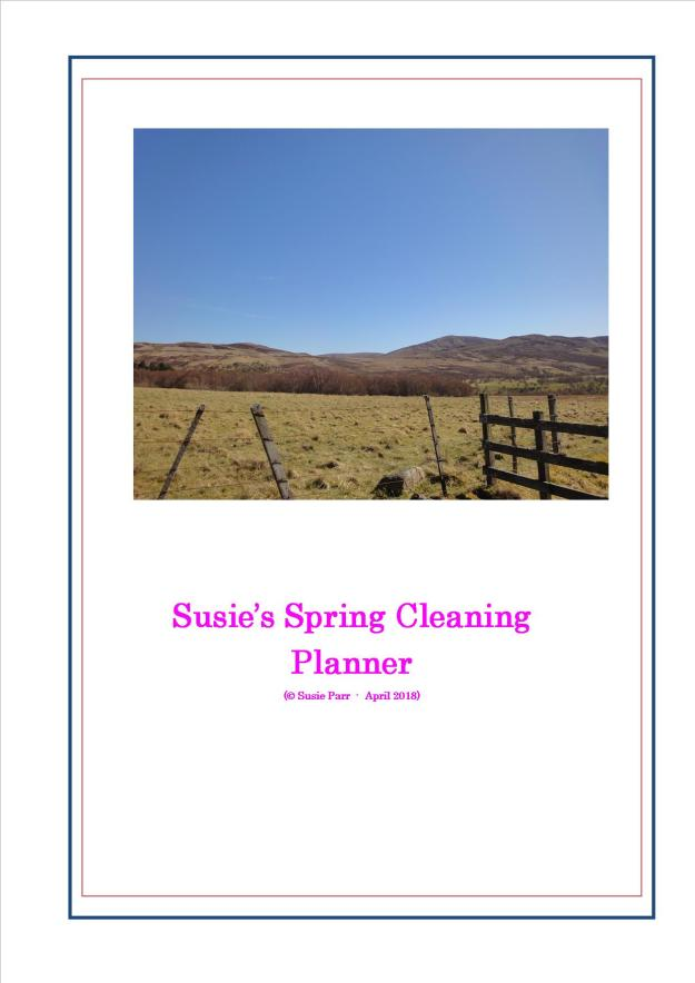 Spring Cleaning Planner 190418
