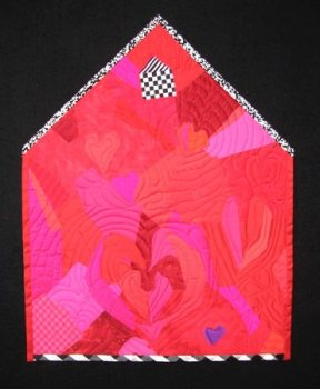 """Red Hearts in a New Home"", 2006, for the ""Put a Roof Over Our Head"" contest."