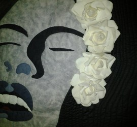 Billie Holiday closeup