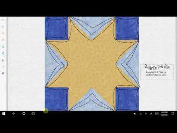 Sawtooth Star Variation #5