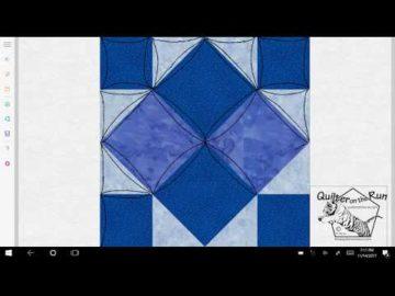 Four Patch Art Square Variation #1