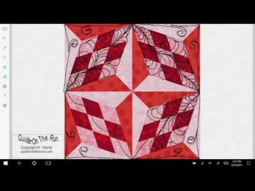 Quilting Ideas Four Block Star Variation #2