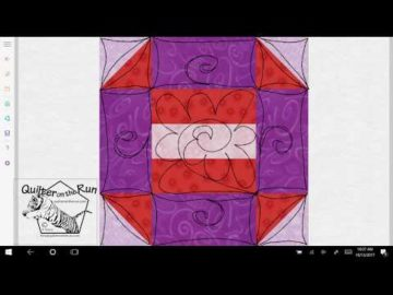 Churn Dash Quilting Idea Variation #6