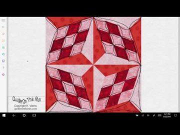 Quilting Ideas Four Block Star Variation #1