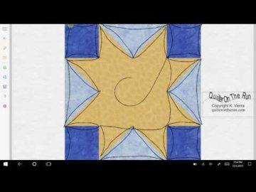 Sawtooth Star Variation #4