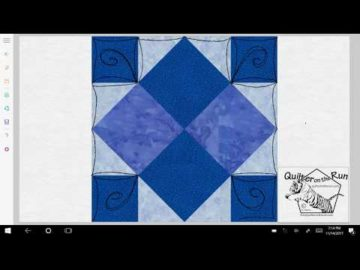 Four Patch Art Square Variation #2