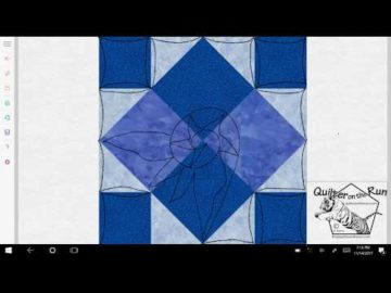 Four Patch Art Square Variation #3