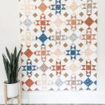 Entire Hand Quilted Wishing Well Quilt Top
