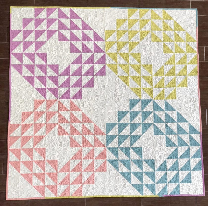 Saltwater Taffy Quilt Pattern for Quilters Candy Membership