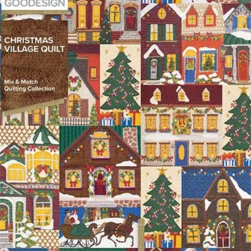 Christmas-Village-Quilt-Front