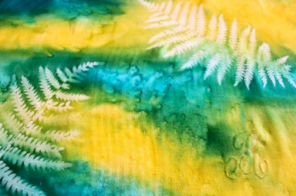 Diy Let The Sun Print Your Fabric Quilting
