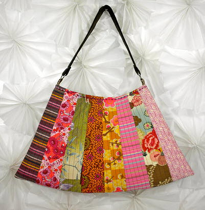 Asian Fan purse La Todera