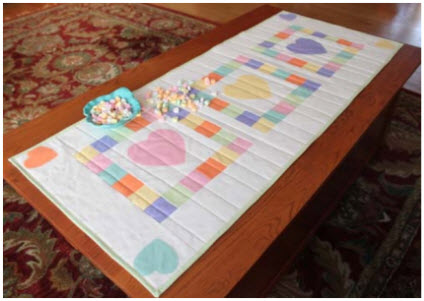 Sweetheart table runner tutorial