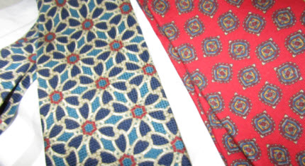 Both ties before cutting