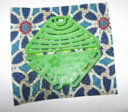 clover tool on fabric