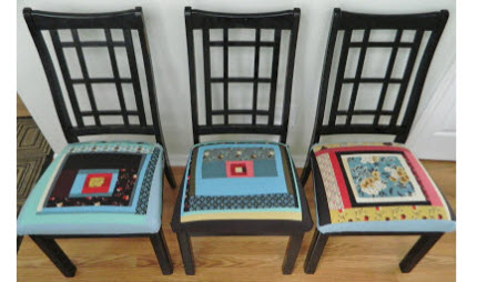patchwork cushion covers - Chair Cushion Covers
