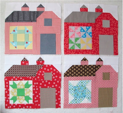 Quilty Barn Blocks Lori Holt