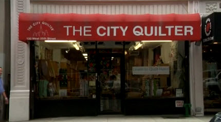 storefront city quilter NY