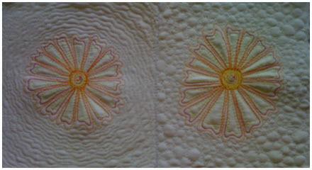 Tutorial: Hyper quilted flower mug rugs