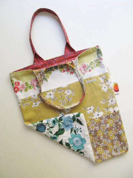 inspiration market bag patchwork
