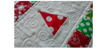 Swap partners table runner Christmas
