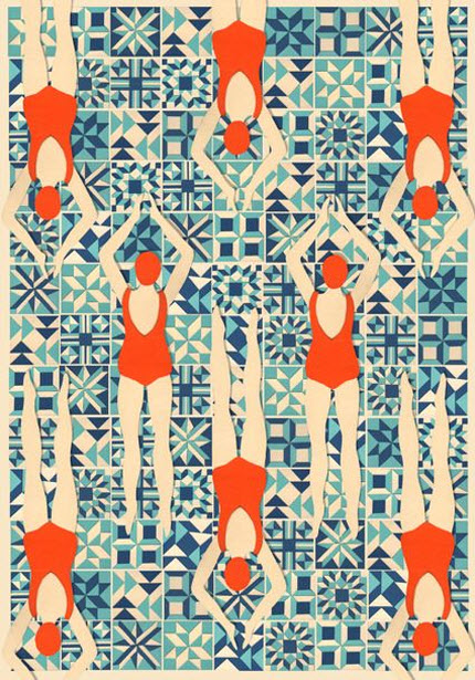 Swimmers by Lou Taylor