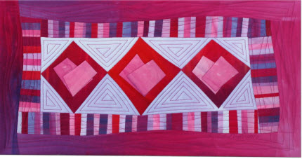 Frieda Anderson free pattern hearts quilt